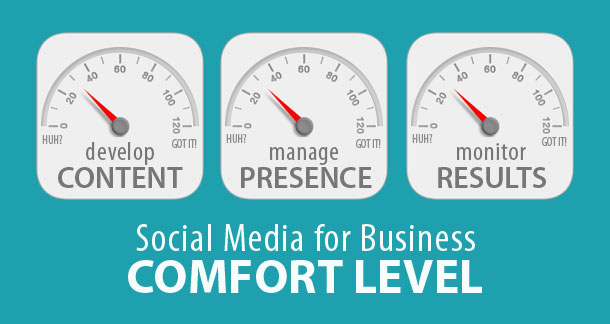Social Media for Business Comfort Level