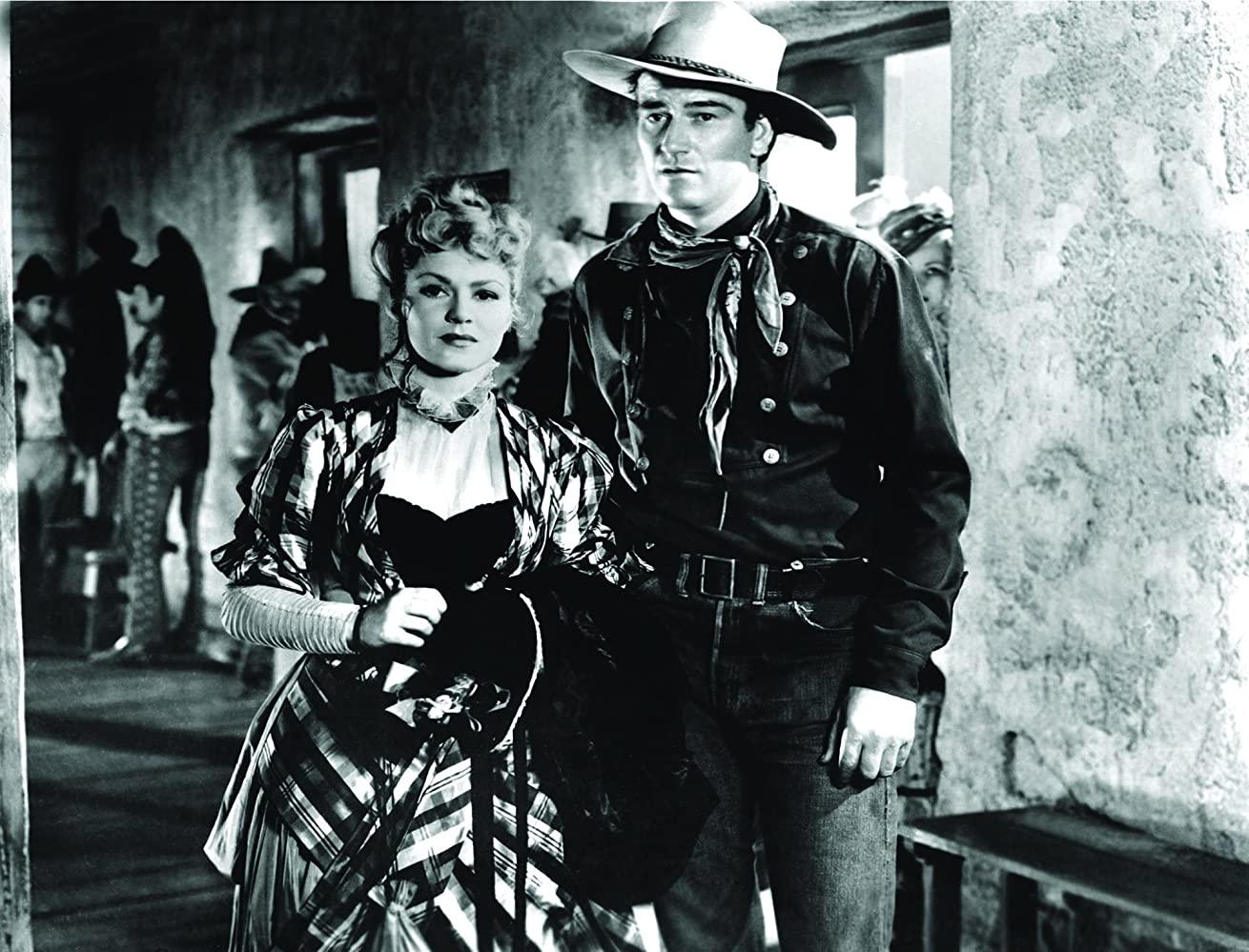 Claire Trevor & John Wayne